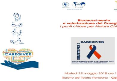 """Cosenza: """"Riconoscimento e valorizzazione del Caregiver: i punti chiave per Aiutare Chi Aiuta""""."""