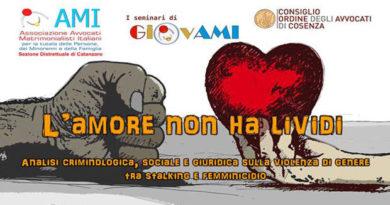 """""""L'amore non ha lividi: analisi criminologica, sociale e giuridica sulla violenza di genere tra stalking e femminicidio""""."""