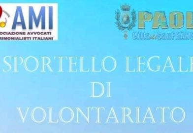 A PAOLA, LO SPORTELLO LEGALE DI VOLONTARIATO DEGLI AVVOCATI MATRIMONIALISTI ITALIANI