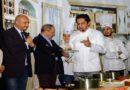 Lo chef internazionale Francesco Mazzei inaugura il Laboratorio di Cucina dell'Alberghiero di San Marco Argentano -CS-