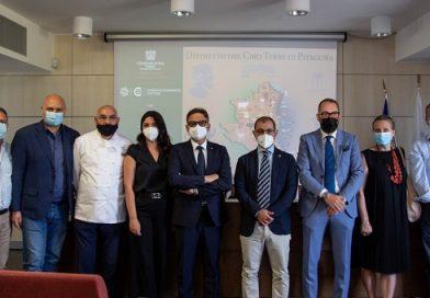 """Presentato il partenariato che costituirà il Distretto del Cibo """"Terre di Pitagora"""", guidato da Piccola Industria di Confindustria Crotone."""